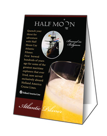 Half Moon Table Tent